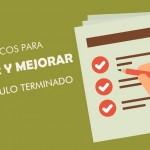 7 trucos para revisar y mejorar un artículo terminado